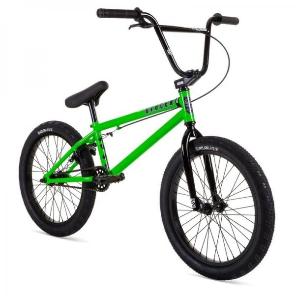 Stolen 2021 CASINO 20.25 Gang Green BMX bike