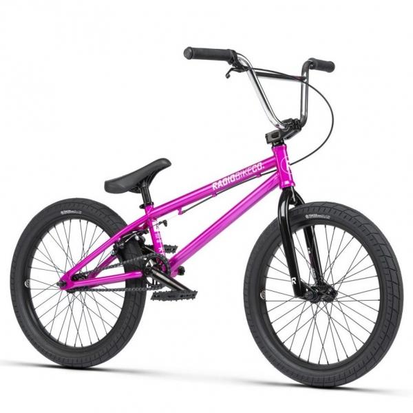 Radio SAIKO 2021 19.25 metallic purple BMX bike